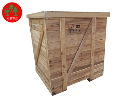 Solid wood closed wooden box